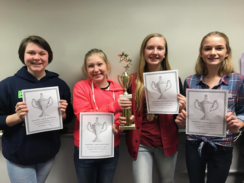 Marley Best, Abby Crawford, Rylee Bish, and LeighAnn Hetrick.
