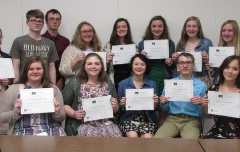 Tri-M Honor Society Inducts 15 Students