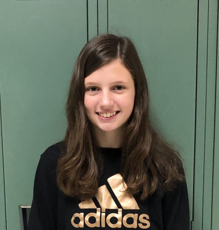 Jr. High Shout Out – Elaina Carrico, 6th Grade